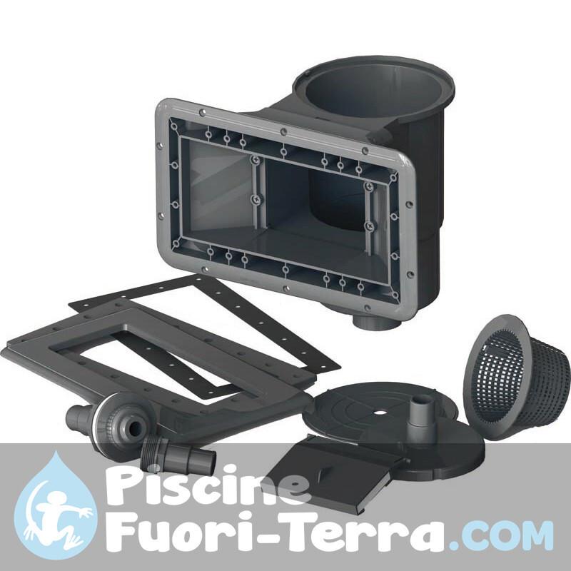 Piscina Gre Sunbay Vermela 672x472x146 790090