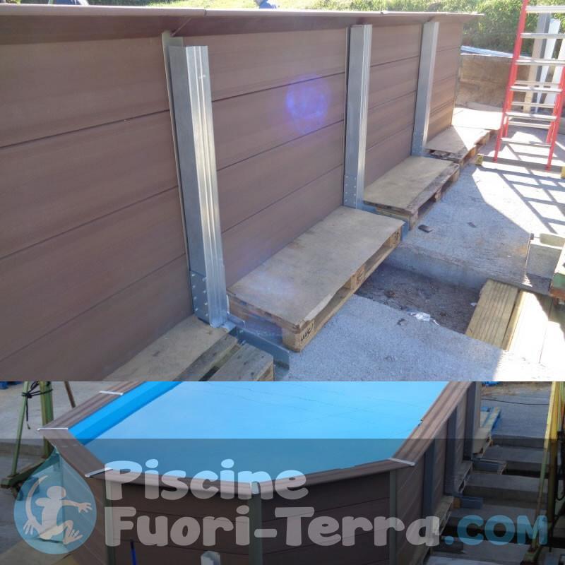 Liner Mosaico Vetroso Per Piscine Rotonde Di Gre