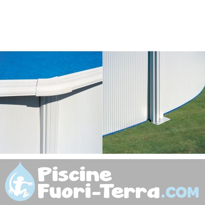 Scaletta a Forbice 120 cm 2x3 gradini Gre ET1200