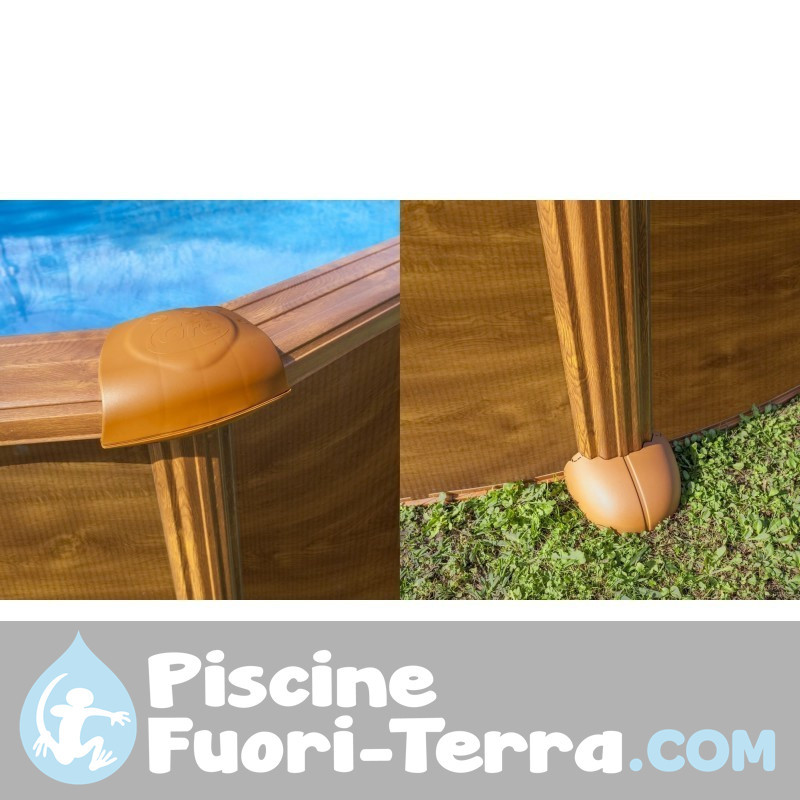 Scaletta Piscine Interrate Muro 4 Gradini Gre 40274