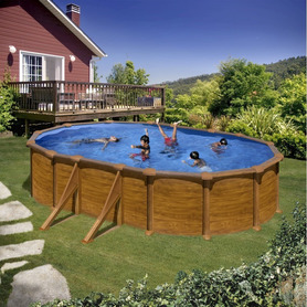 Piscina in Composito Gre 674x368x124 KPCOR60