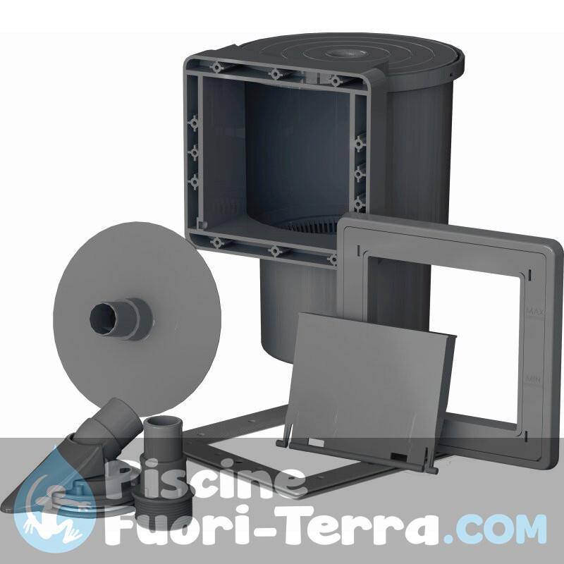 Scaletta Piscine Interrate Standard 3 Gradini Gre 40110