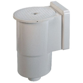 Aspetto Legno Rotonda 20 l PVC Scuro Gre 40664A
