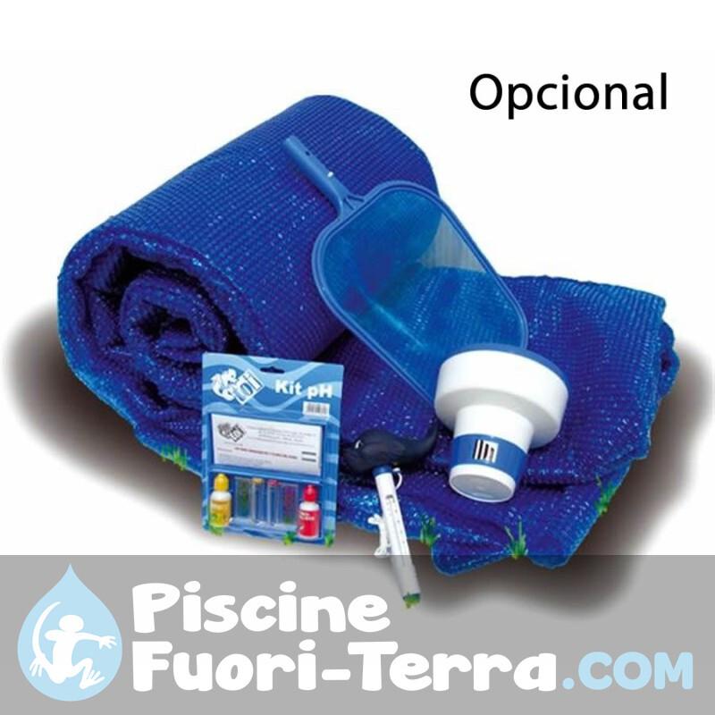 Kit Pulizia Piscine Completo Gre AR20641