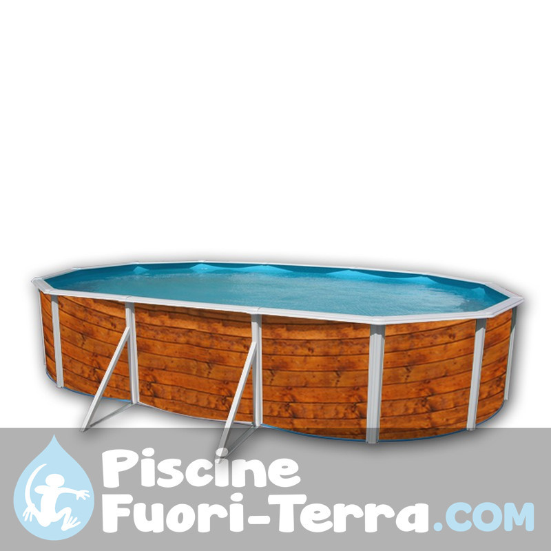 Piscina Gre Vimini 610x375x132 KITPROV618NRT