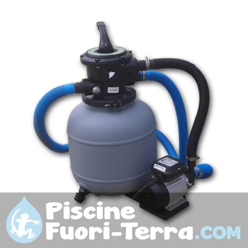 Piscina Gre Vimini 730x375x132 KITPROV738NRT