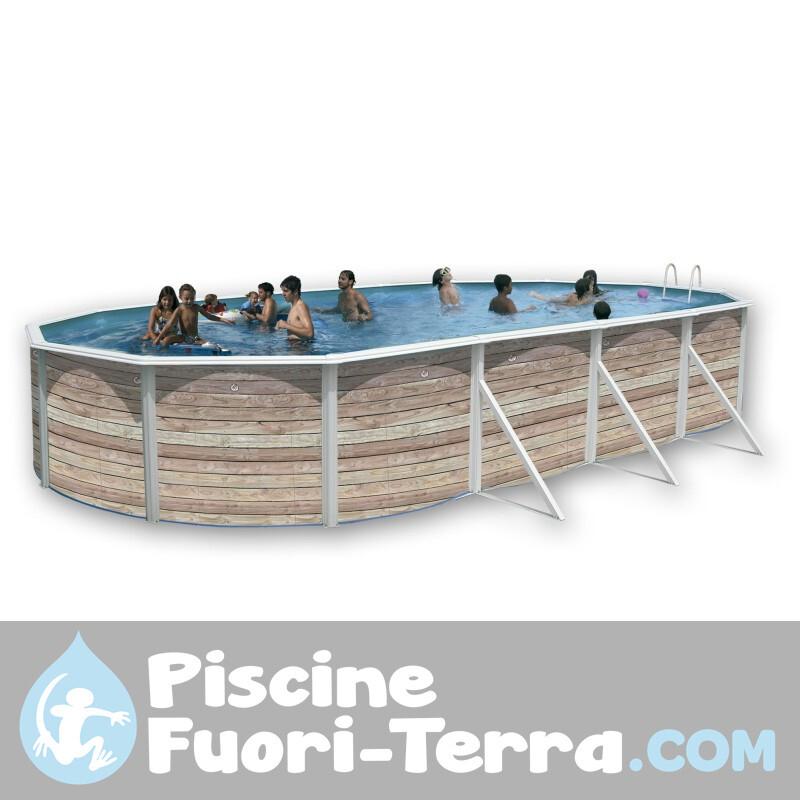 Piscina StarPool in Finto Vimini 350x132 PR358RT