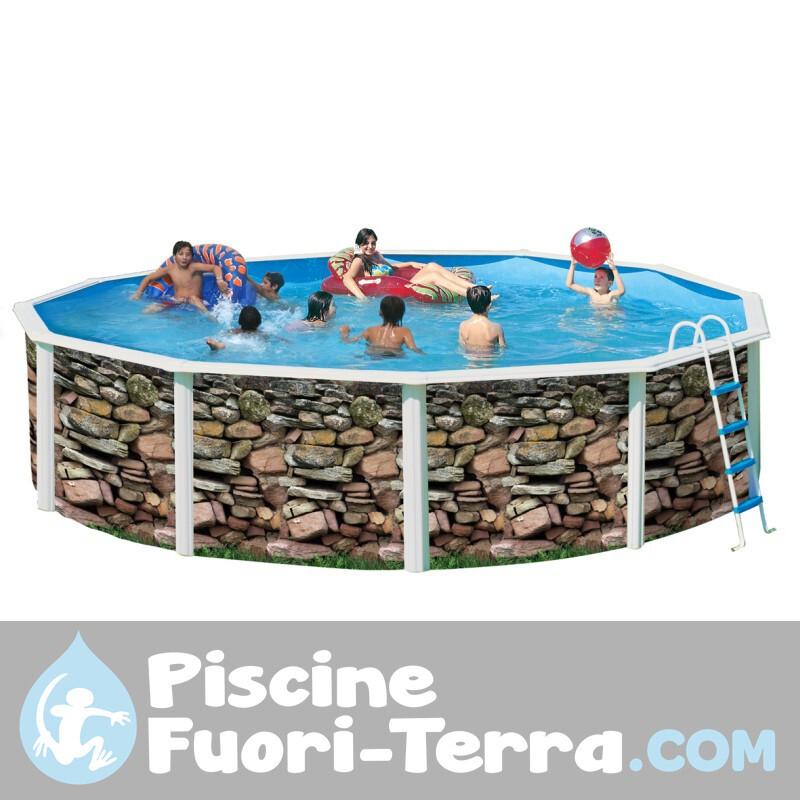 Piscina Gre Capri 500x300x120 KIT500C