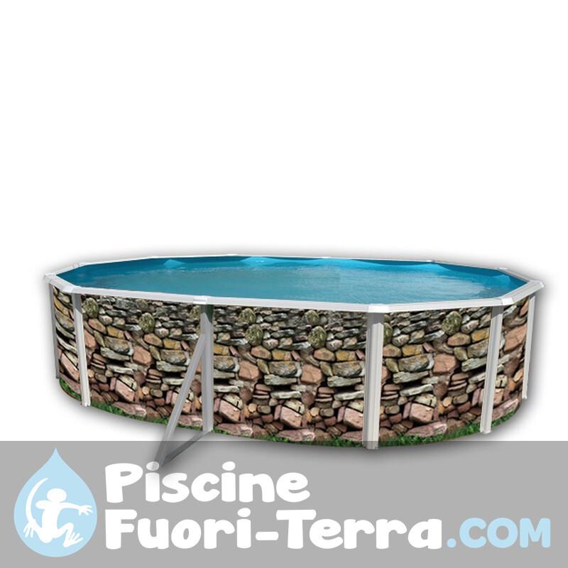 Piscina Gre Capri 730x375x120 KIT730C