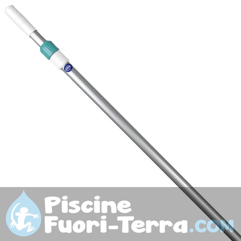 Piscina Toi Silver Luna Ovale 550x366x120