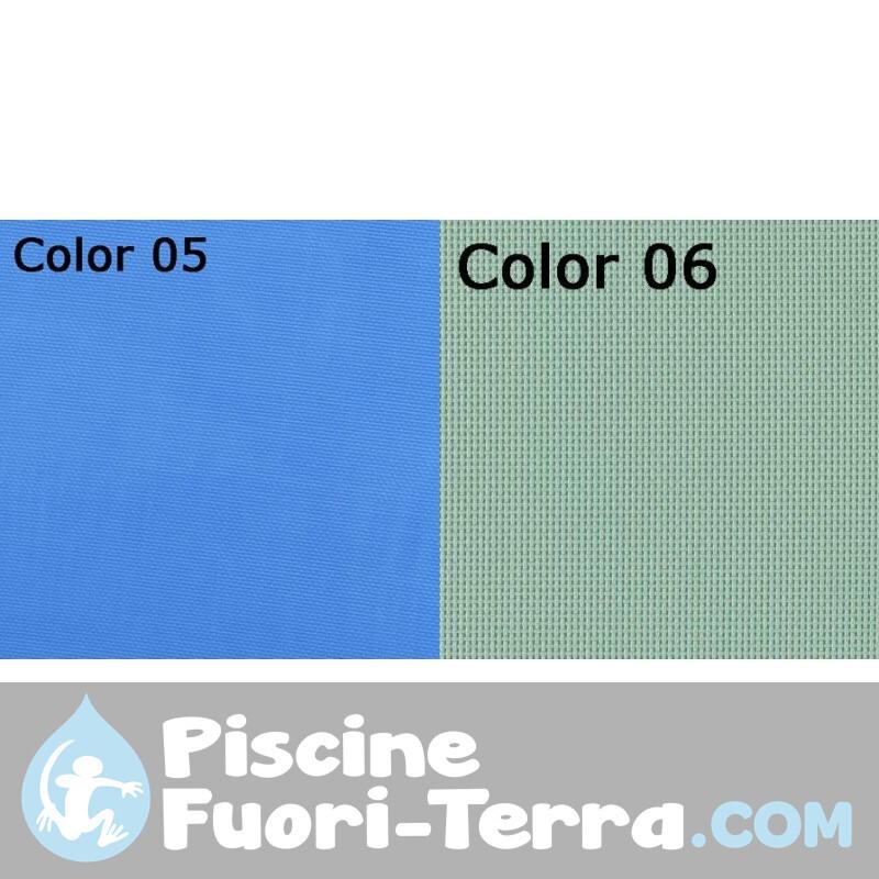 Piscina in Legno Composito 386x124 8980