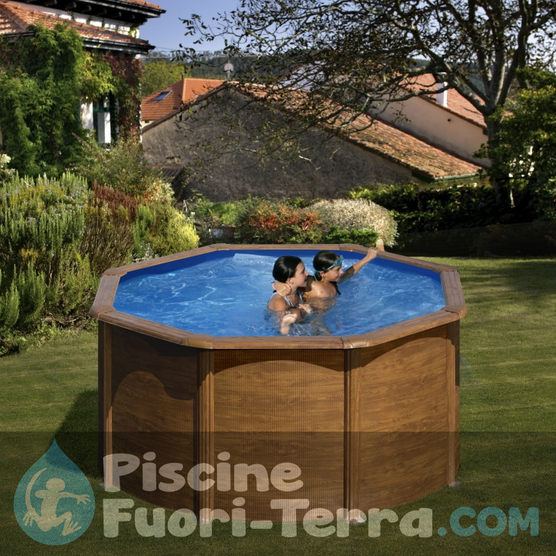 Piscina Gre Pacific 240x120 KIT240W