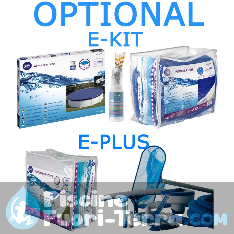 Piscina Gre Pacific 500x350x120 KIT510W