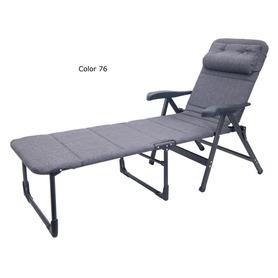 Sedia a braccioli extrapiatta Air Elegant 7 posizioni ovattata