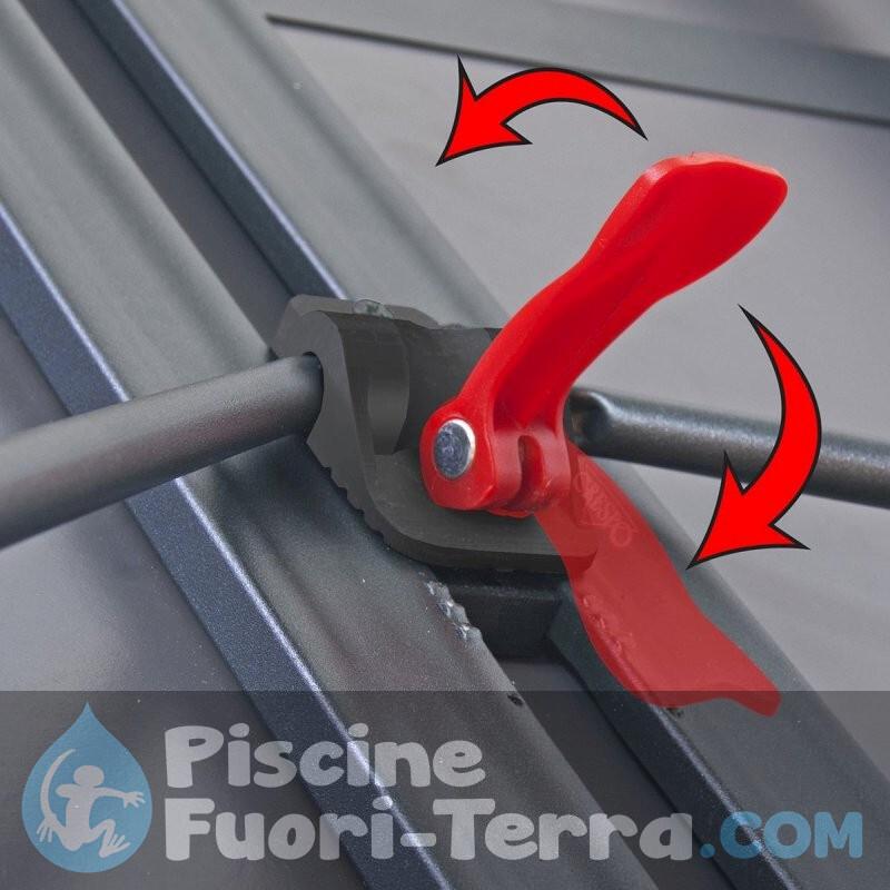 Ricambi Piscine Toi 640x366x120 cm