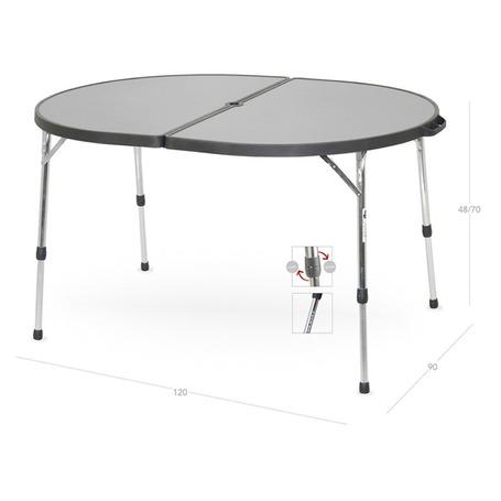 Gambe Allungabili Per Tavoli.Tavolo Rettangolare In Alluminio Con Gambe Telescopiche Allungabili