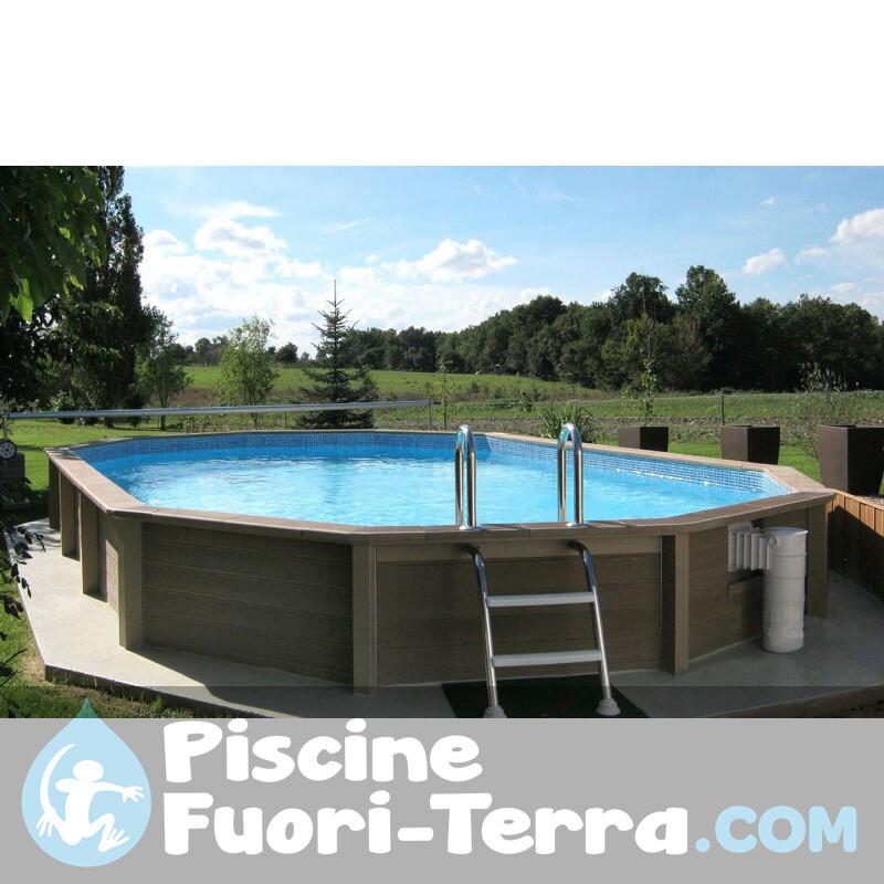 Piscina Gre Vimini 500x300x132 KITPROV508NRT