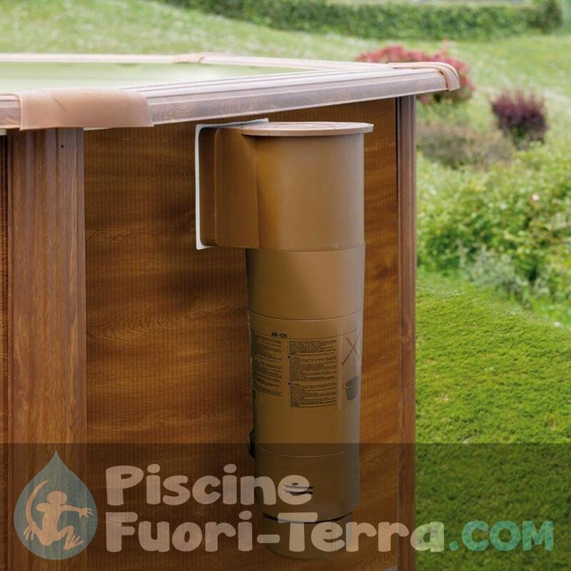 Piscina Gre Mauritius 610x375x132 KITPROV618WO