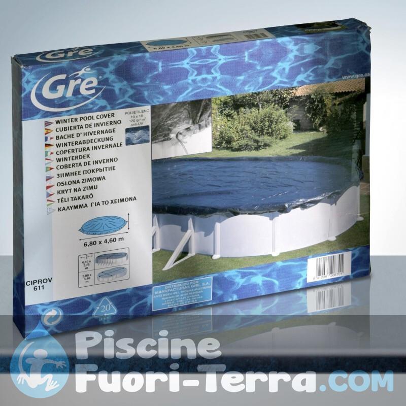 Ricambi Piscine Toi 350x120 cm