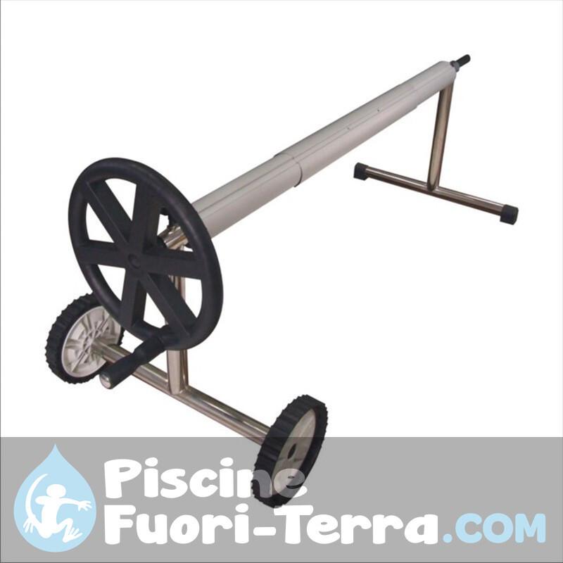 Doccia Solare 35 l PVC in Finto Legno Gre AR1035W