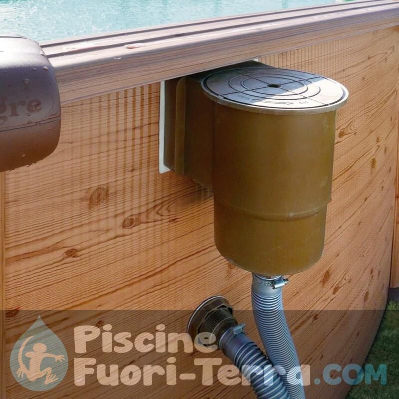 Piscina Gre Cerdeña 350x120 KIT350PO