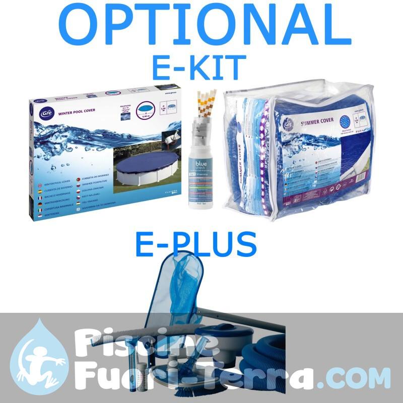 Piscina Gre Cerdeña 500x300x120 KIT500PO