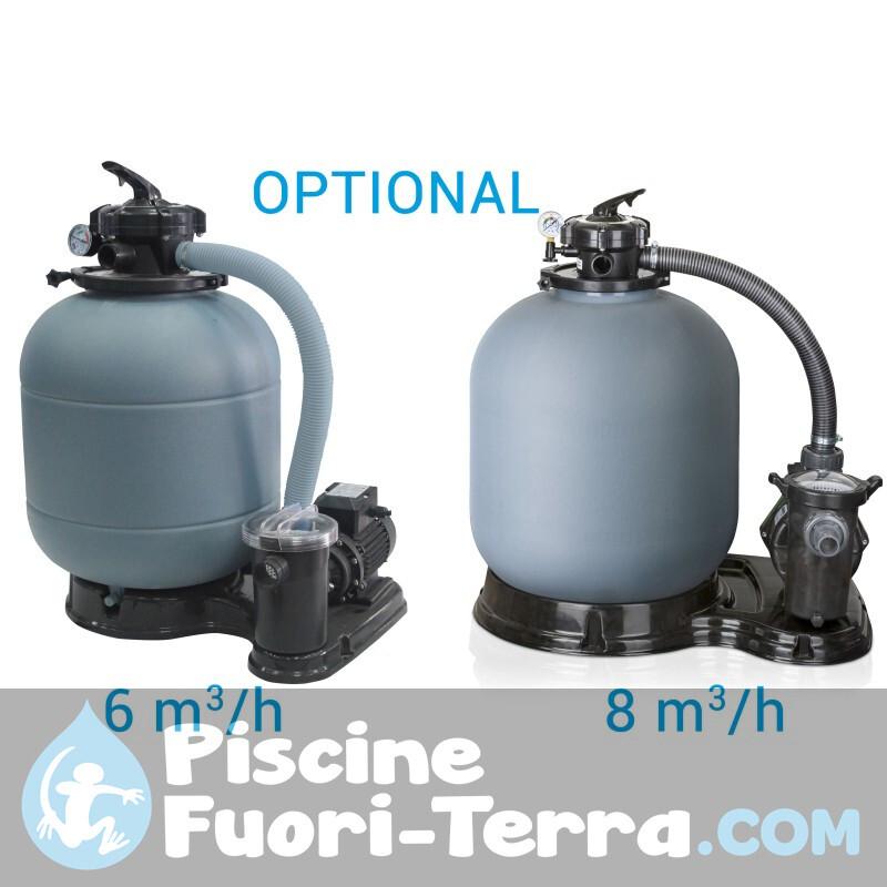 Piscina Gre Corsica 610x375x132 KITPROV618PO