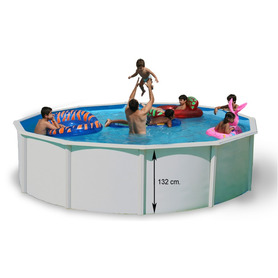 Piscina StarPool in Finto Vimini 350x132 PR358RT