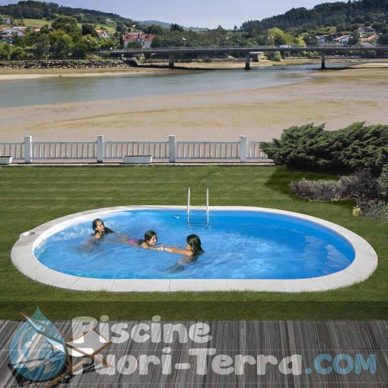 Piscina StarPool Senza Colonne 610x375x132 PROV6188