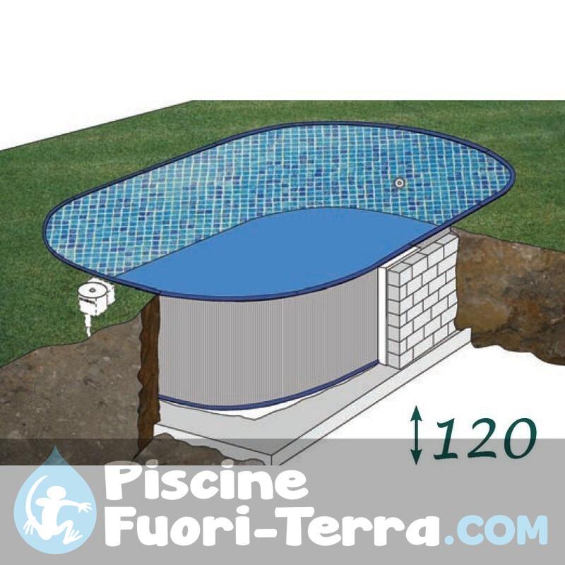 Piscina StarPool in Finto Legno 730x375x120 P730W