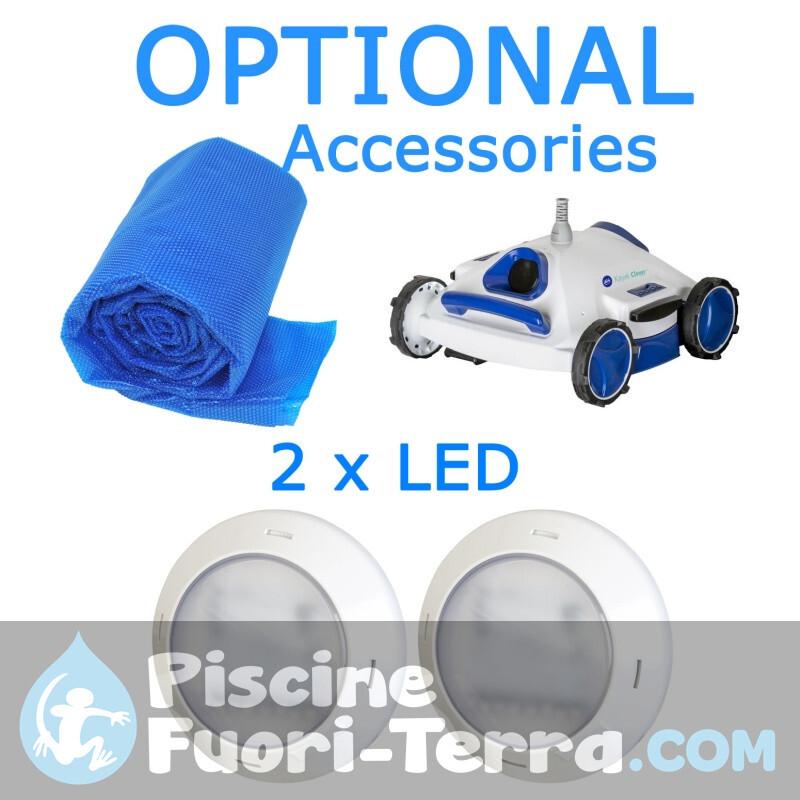 Piscina StarPool in Finto Legno 350x132 PR358WO
