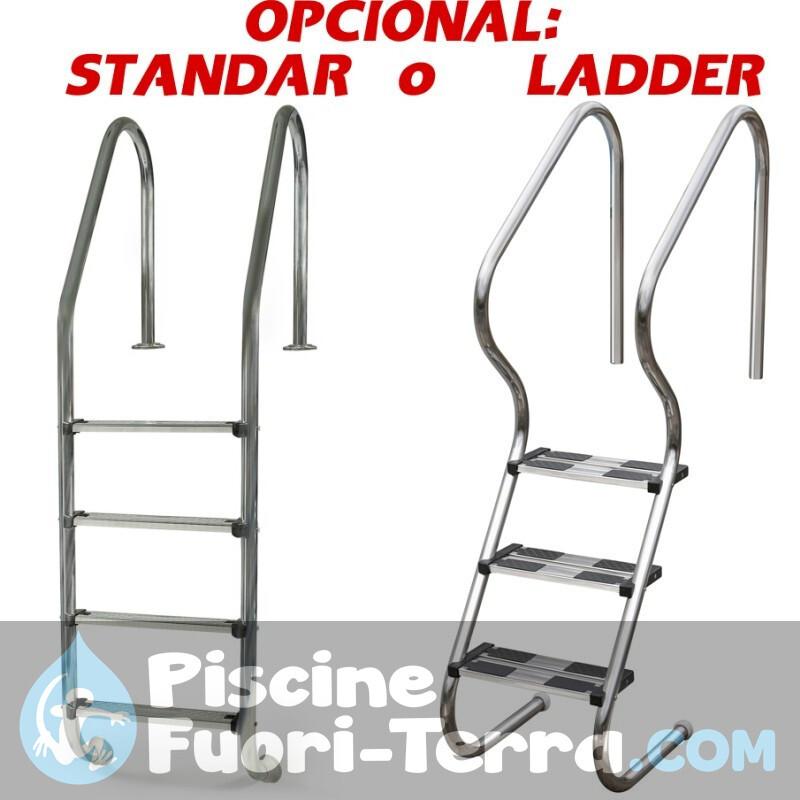 Piscina StarPool in Finto Legno 550x132 PR558WO