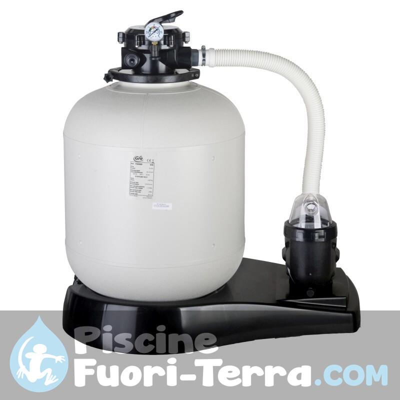 Piscina Gre Sunbay Carra 300x300x119 788455E
