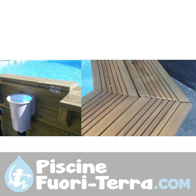 Piscina StarPool In Finta Grafite 350x132 PR358GF