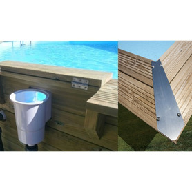 Piscina in Composito Gre 326x326x96 KPCOR28