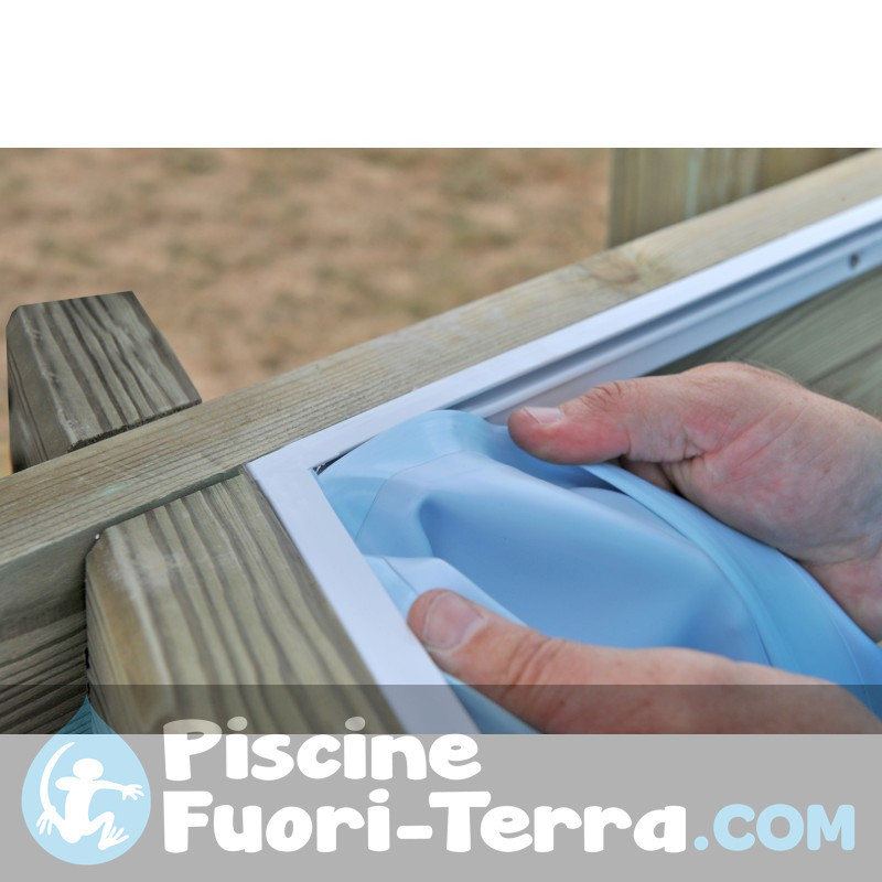 Piscina StarPool in Finto Vimini 460x120 P460RT