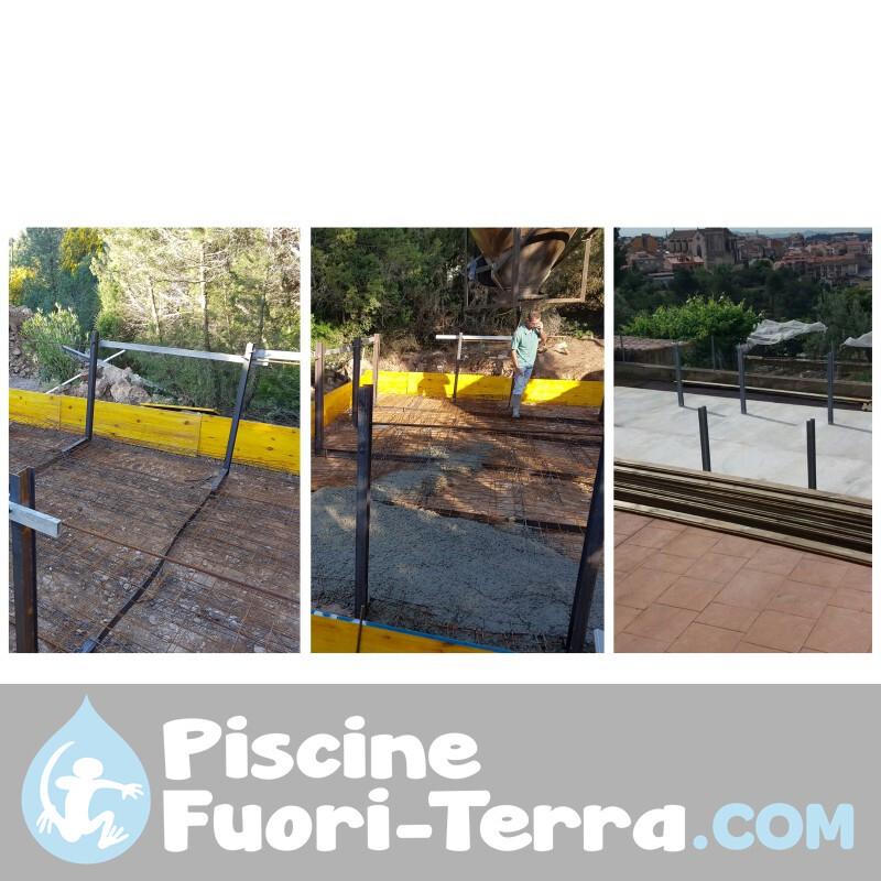 Piscina StarPool in Finto Legno 730x375x132 PROV738WO