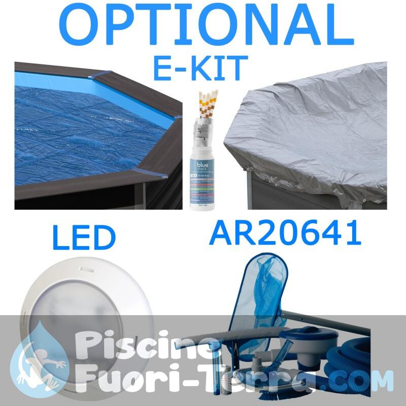 Piscina StarPool in Finto Legno 730x375x132 PROV7388WO